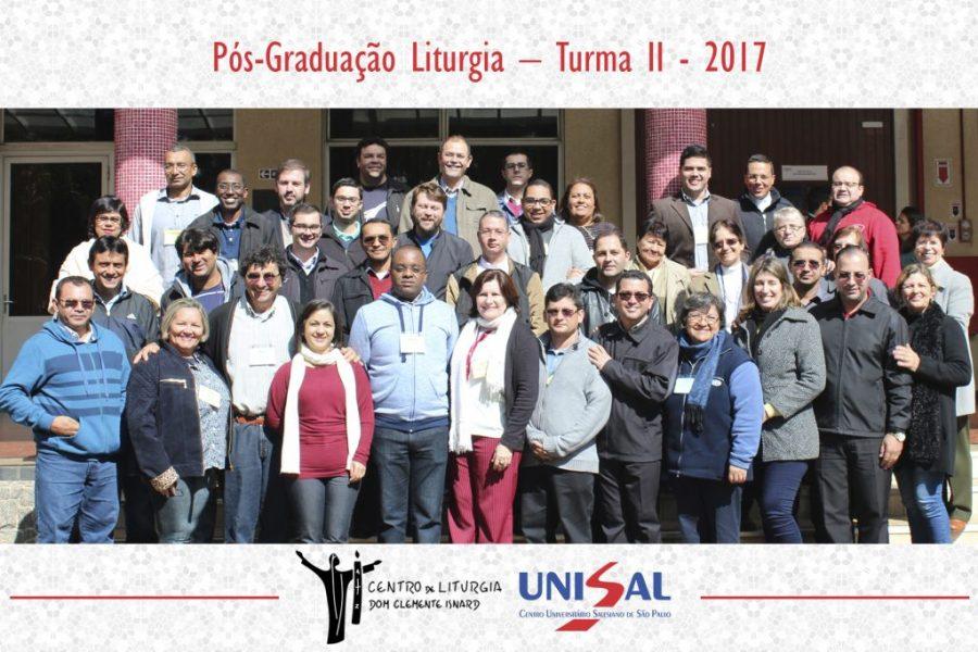 Cursos de Pós-Graduação em Liturgia II Turma