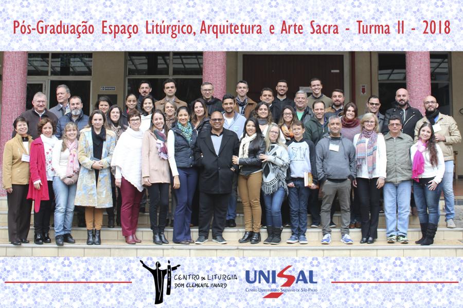O UNISAL inicia o segundo módulo do Curso de Pós-Graduação Lato Sensu em Espaço Litúrgico, Arquitetura e Arte Sacra